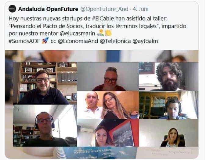 Mentores en Andalucía Open Future